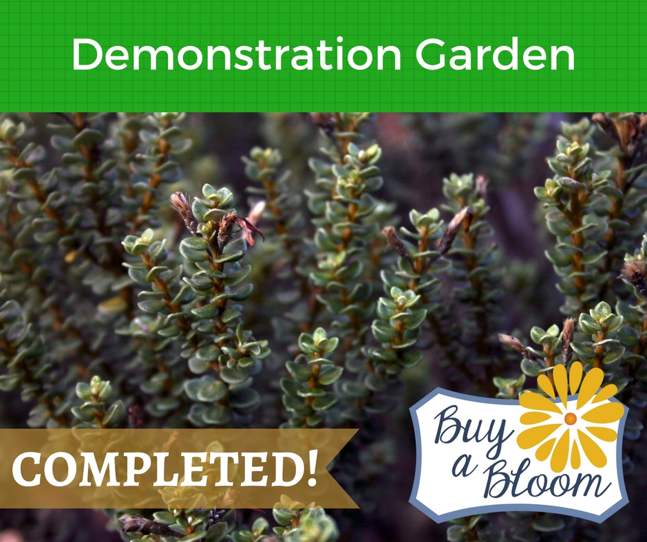 Demonstration garden competed