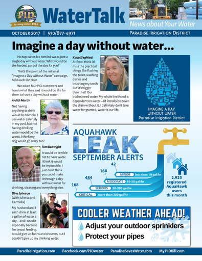 Water Talk - October 2017